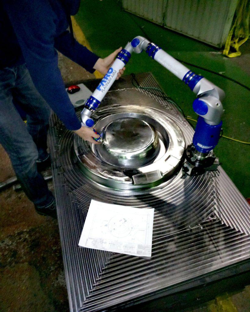 КИМ координатно-измерительная машина замеры измерения штампов деталей оснастки пресс-форм оцифровка мат-модель
