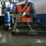 Измерение контрольного приспособления на координатно-измерительной машине